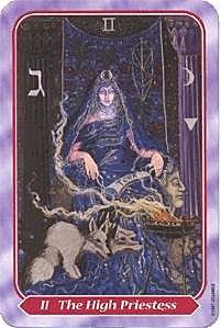 《塔羅命數》 系列之2號牌女祭司