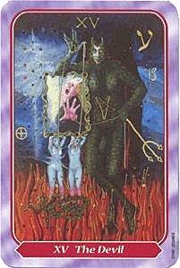《塔羅命數》系列之15號牌 惡魔