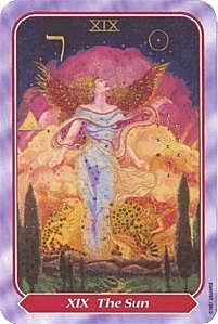 《塔羅命數》系列之19號牌 太陽