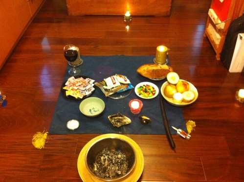 夥伴的分享一起做儀式吧