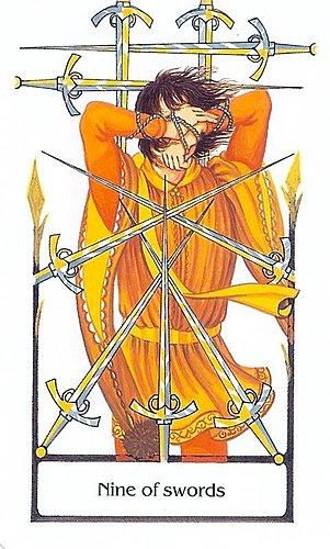 古徑塔羅小牌旅程之寶劍九