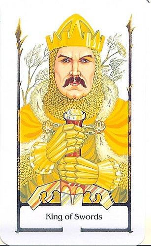 古徑塔羅小牌旅程之寶劍國王