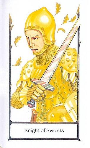 古徑塔羅小牌旅程之寶劍騎士