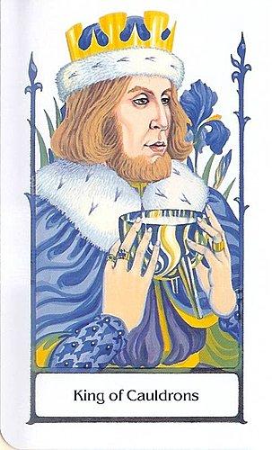 古徑塔羅小牌旅程之聖杯國王