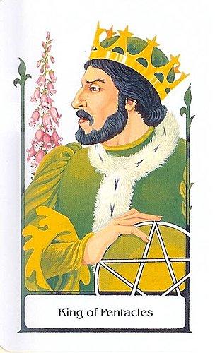 古徑塔羅小牌旅程之錢幣國王