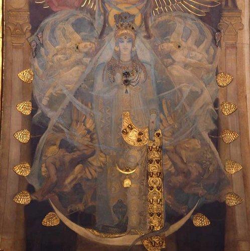 ESABTS新月聖石圈-3月月光石與阿斯塔德ASTARTE女神