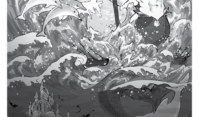 【魔法手帳誌】2017年10月‧希臘海神⊕波賽頓 Poseidon