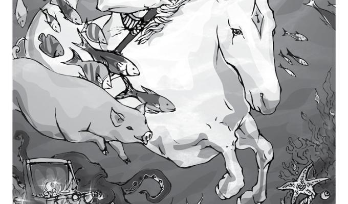 【魔法手帳誌】2017年6月‧凱爾特海神⊕馬那南 Manannan MacLir
