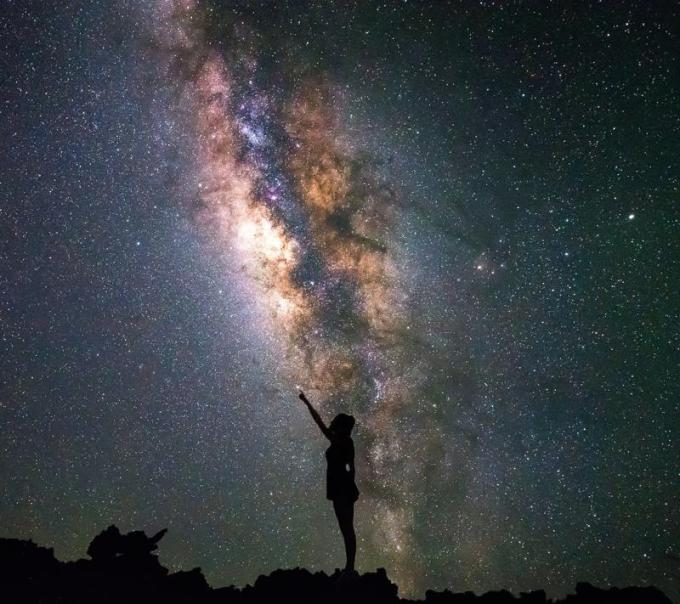 seeing milky way stars