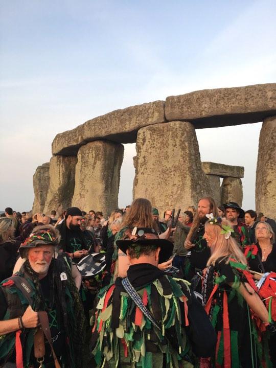 【2017光啟英格蘭】21th June, Stonehenge巨石陣:至高希望之光