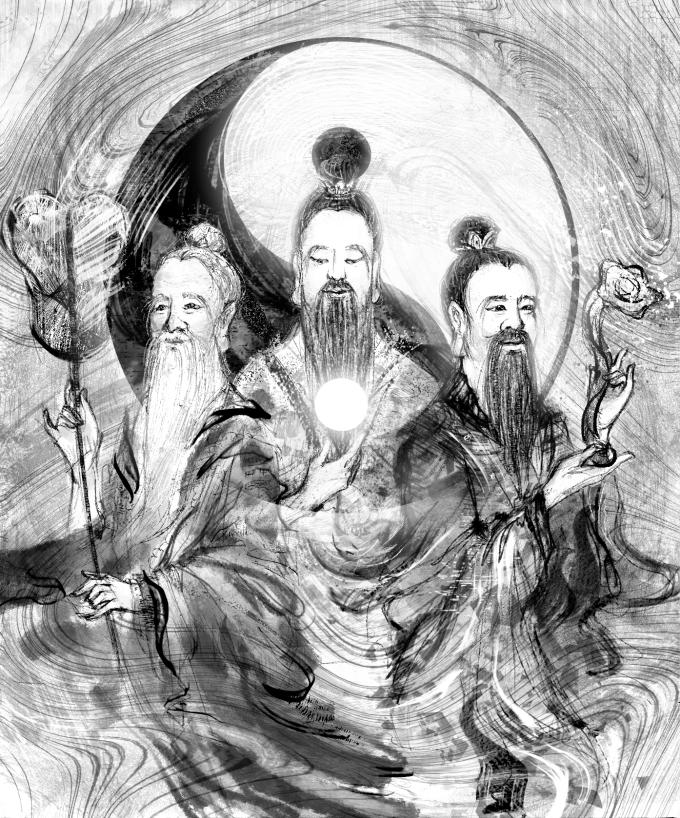 【魔法手帳誌】2019年2月‧神聖之至「道」的化身.三清道祖