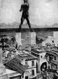 原始太陽神雕像示意圖