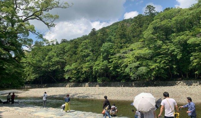 【2019夏季之旅】日本聖地巡禮紀錄/「神宮」參拜:內宮