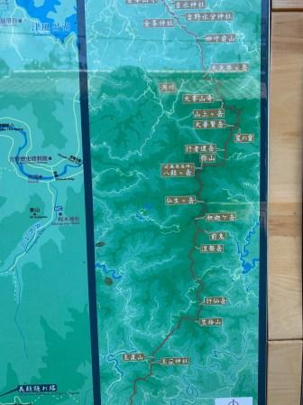 2019_summer trip_吉野山_09_地圖